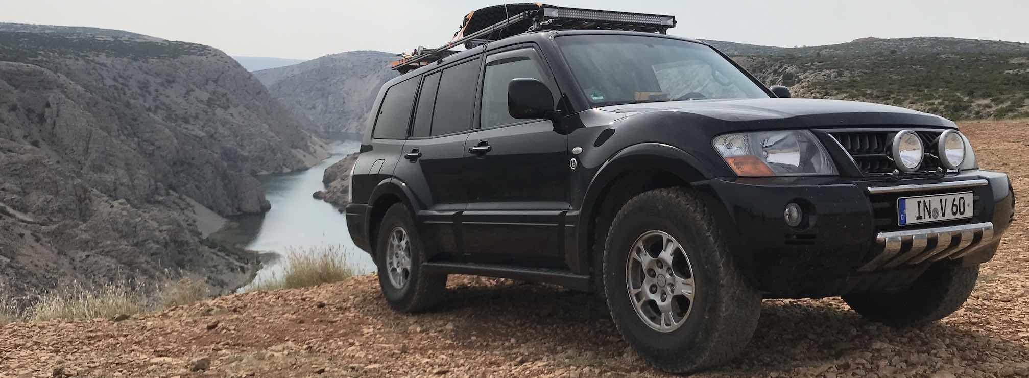 einfach.abenteuerlich Mitsubishi Pajero V60 Camper Ausbau